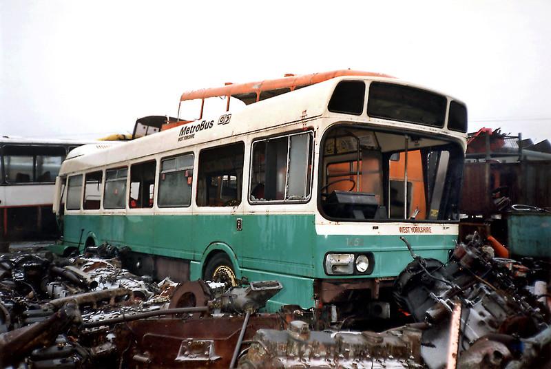 1454 KNW655N, Sherburn-in-Elmet 29/1/1992