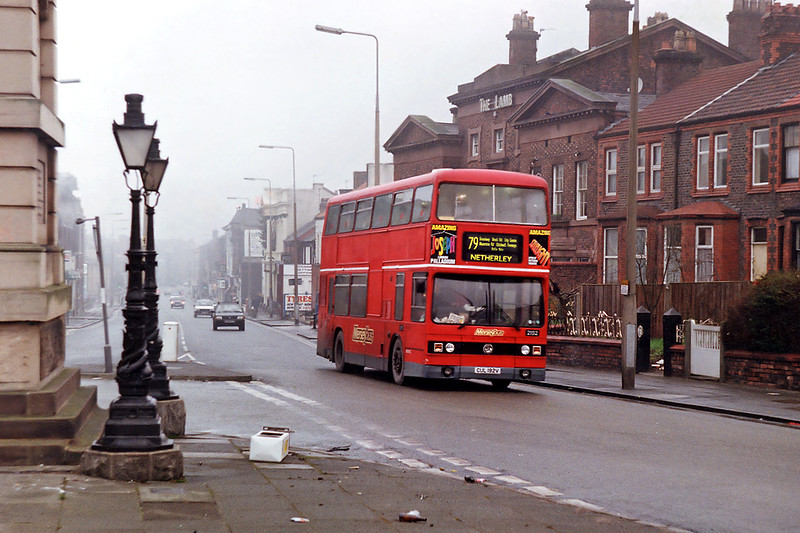 2192 CUL192V, Wavertree 2/1/1993