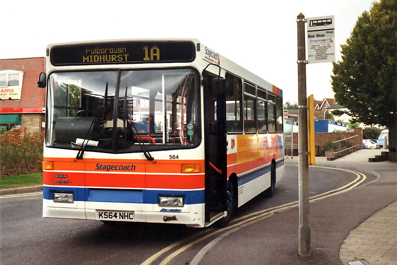 564 K564NHC, Storrington 3/9/1993