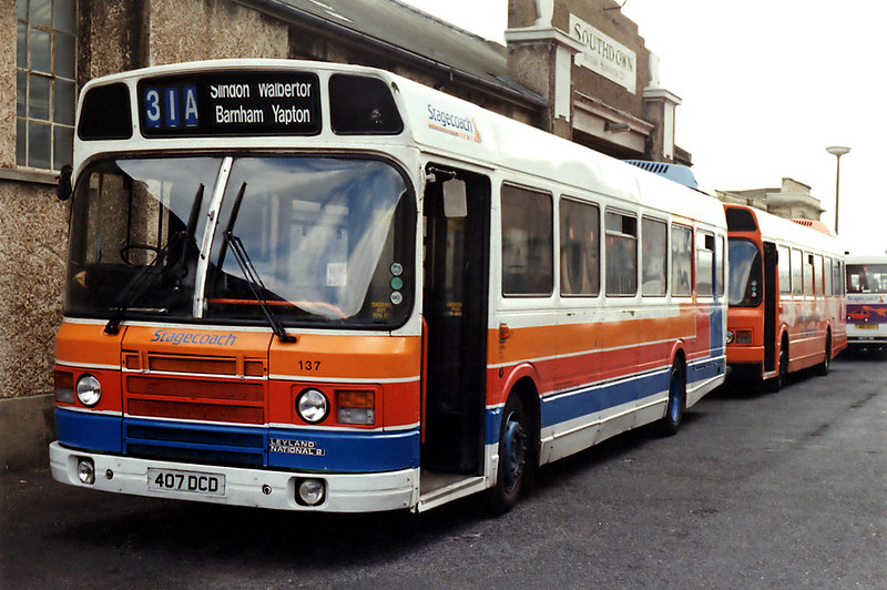 137 407DCD, Worthing 3/9/1993