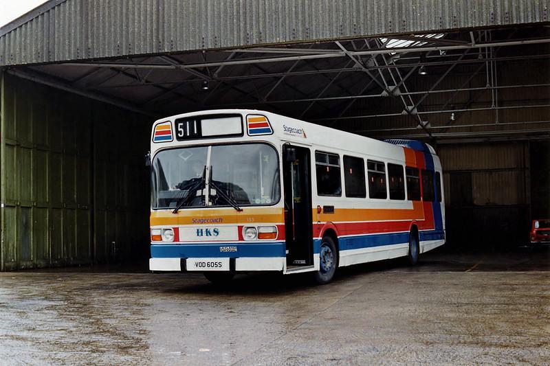 155 VOD605S, Ashford 10/11/1993