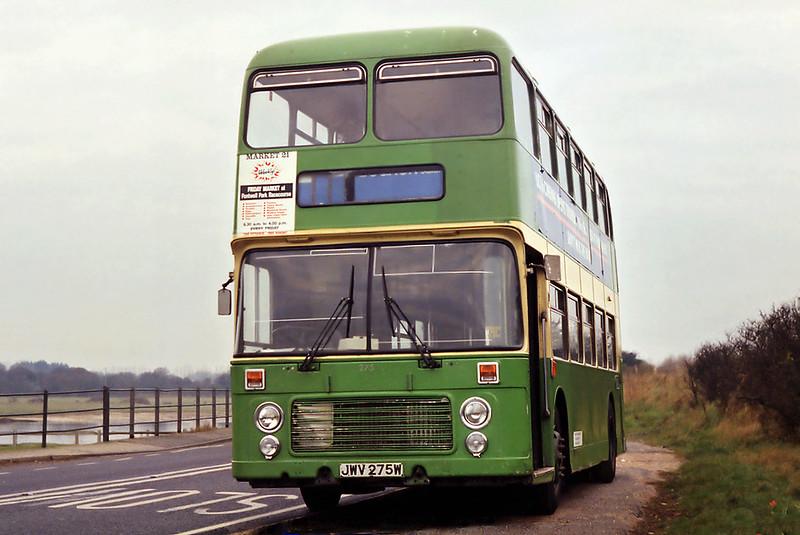 275 JWV275W, Sidlesham 11/3/1993