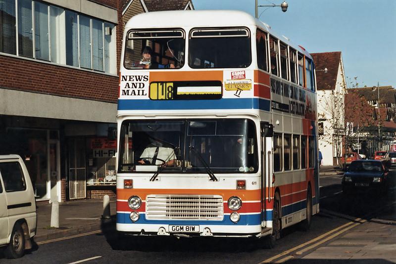 611 GGM81W, Farnham 12/11/1993
