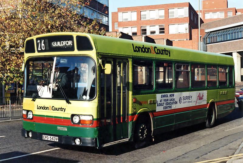543 EPD543V, Guildford 12/11/1993