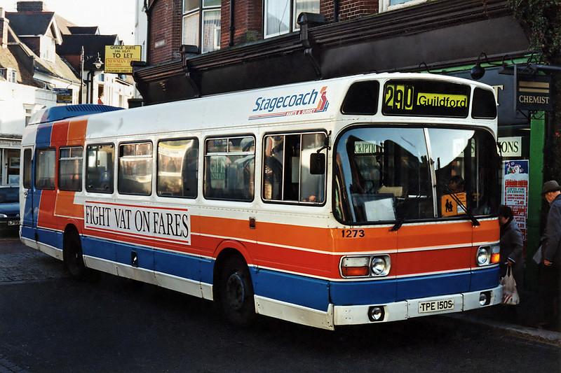 1273 TPE150S, Godalming 12/11/1993