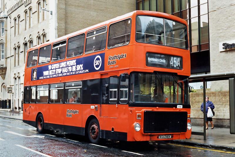 A60 KGG141Y, Glasgow 15/5/1993