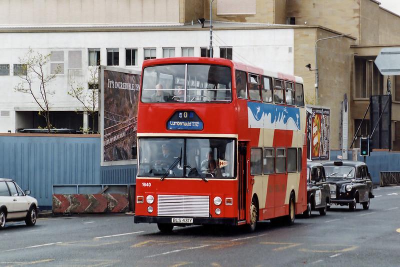 1640 BLS431Y, Glasgow 15/5/1993