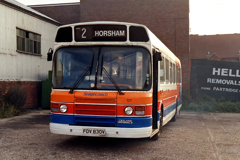 127 FDV830V, Henfield 18/9/1993