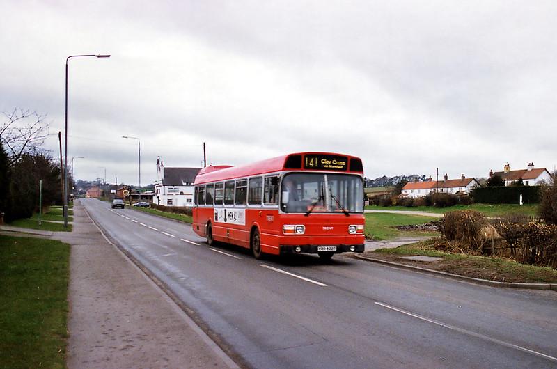 502 YRR502T, Ravenshead 20/2/1993