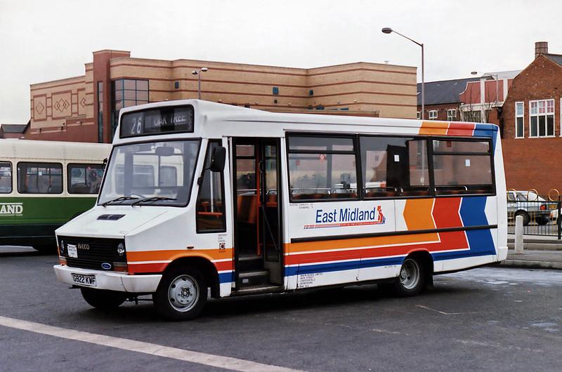 922 G922KWF, Mansfield 20/2/1993