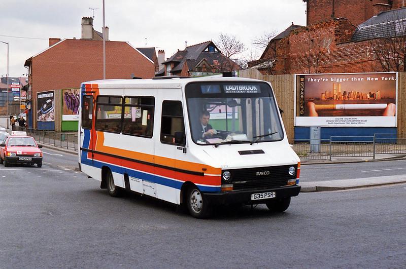 929 G35PSR, Mansfield 20/2/1993