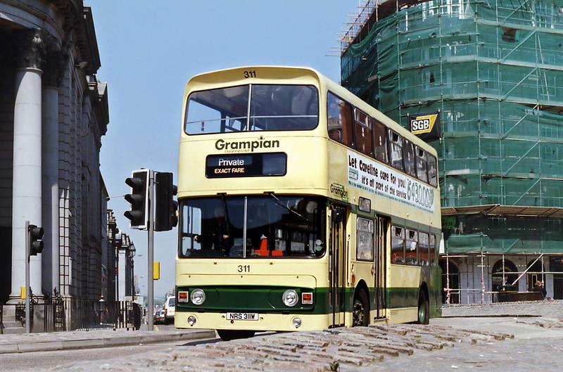 311 NRS311W, Aberdeen 23/5/1993