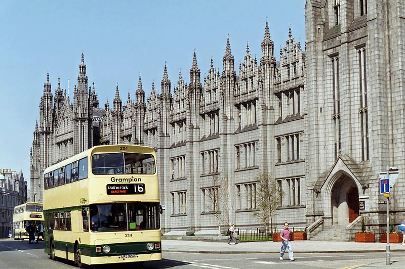 324 URS324X, Aberdeen 23/5/1993