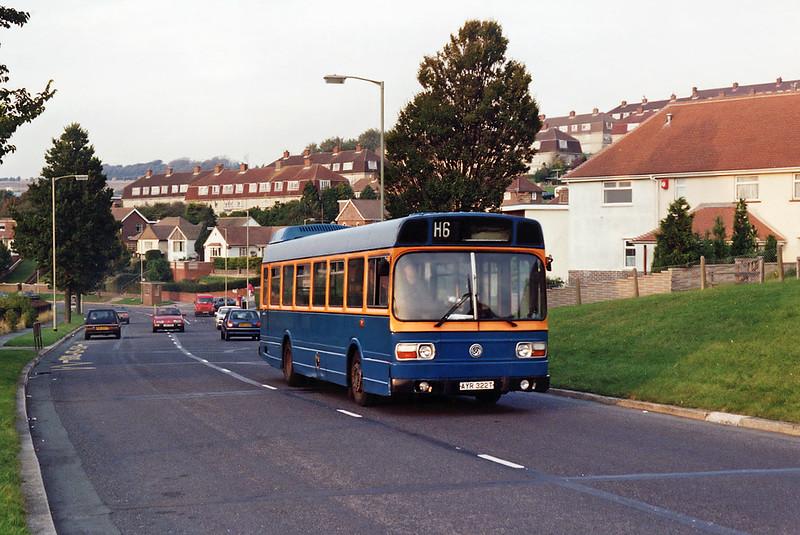AYR322T, Hollingbury 24/9/1993