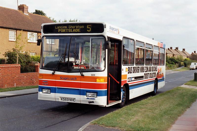 569 K569NHC, Shoreham 27/8/1993