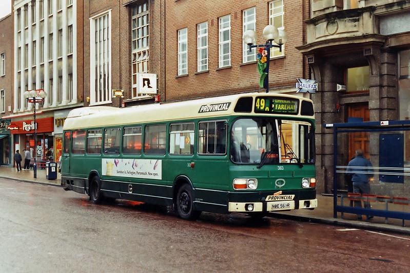 383 NOE561R, Portsmouth 29/12/1993
