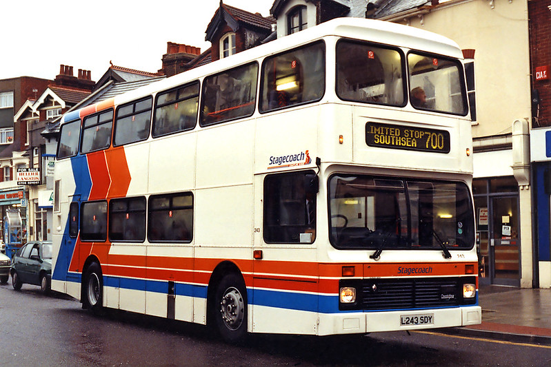243 L243SDY, Portsmouth 29/12/1993