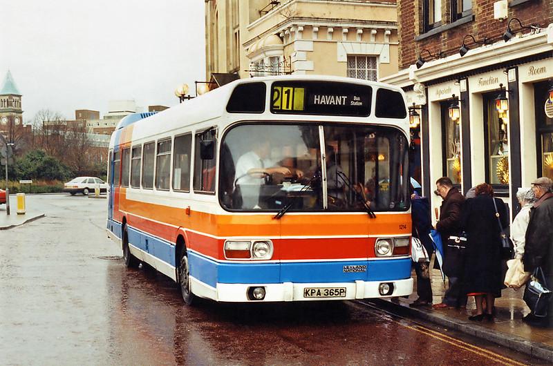 1214 KPA365P, Portsmouth 29/12/1993