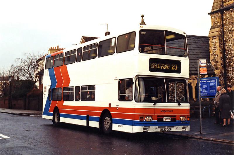 223 J623GCR, Southsea 29/12/1993