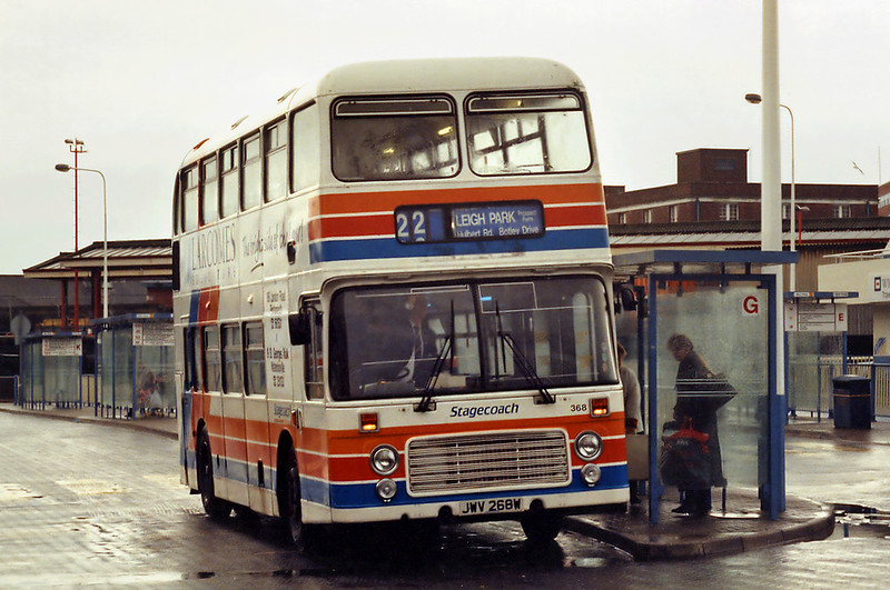368 JWV268W, Portsmouth  29/12/1993