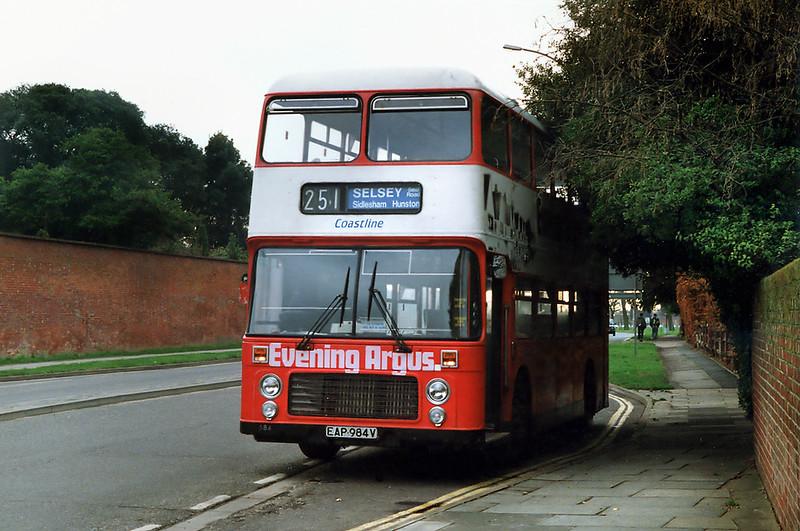 684 EAP984V, Chichester 30/1/1993