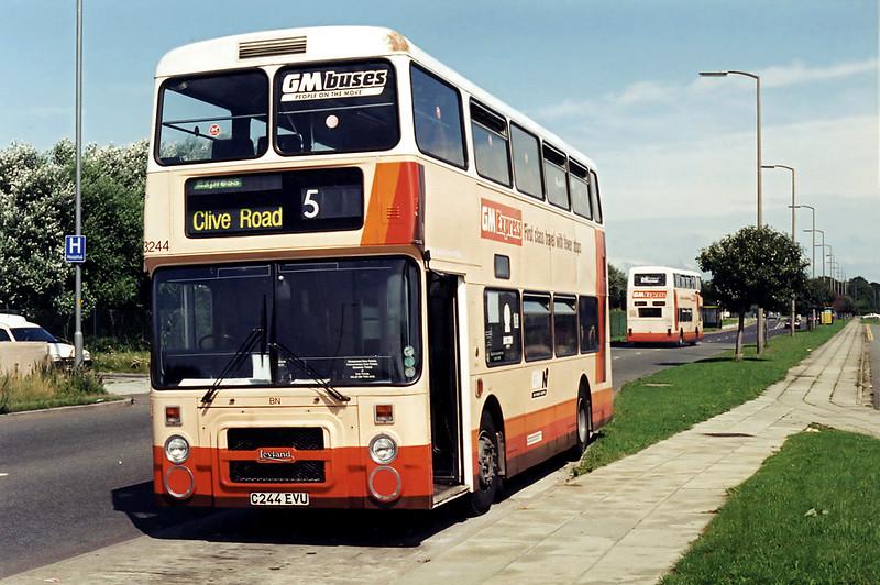 3244 C244EVU, Kew 4/8/1994