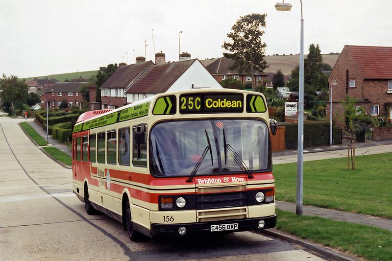 156 C456OAP, Coldean 4/9/1994