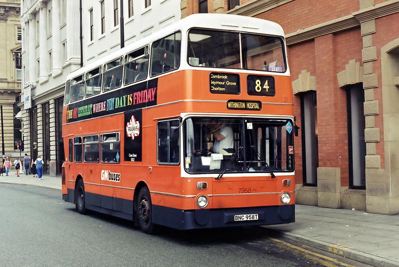 7958 BNC958T, Manchester 5/8/1994