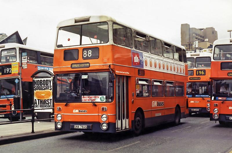 7784 UNA784S, Manchester 5/8/1994