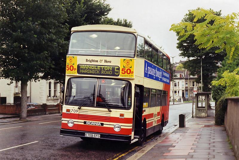 709 E709EFG, Preston Park 11/9/1994