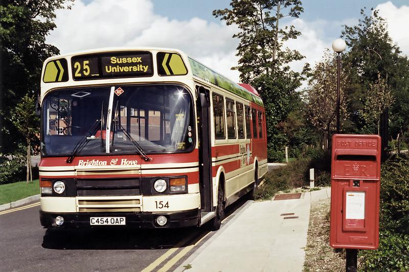 154 C454OAP, Sussex University 10/9/1994