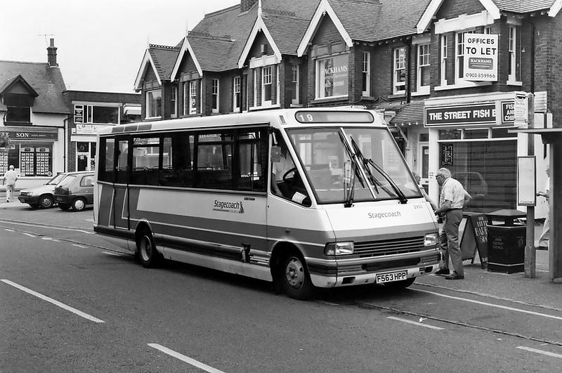 2903 F563HPP, Rustington 13/7/1994