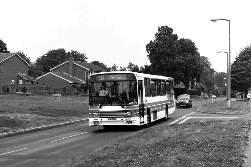 631 L631TDY, East Preston 13/7/1994