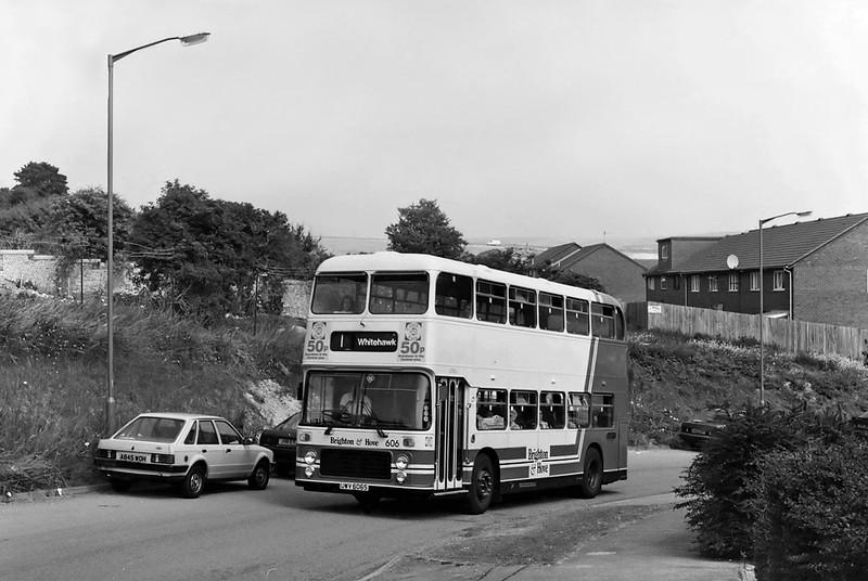 606 UWV606S, Downs Park 14/7/1994