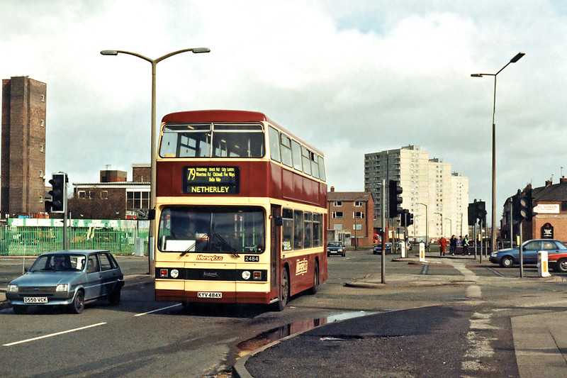 2484 KYV484X, Croxteth 17/3/1994
