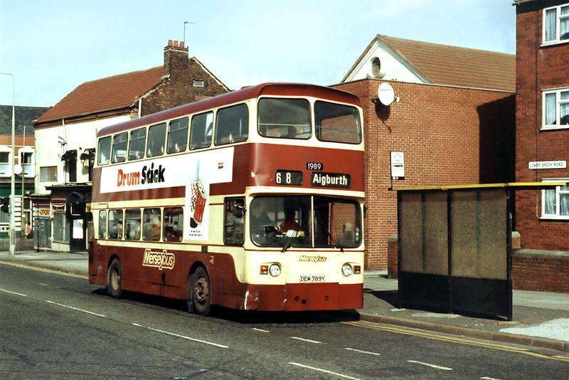 1989 DEM789Y, Anfield 17/3/1994