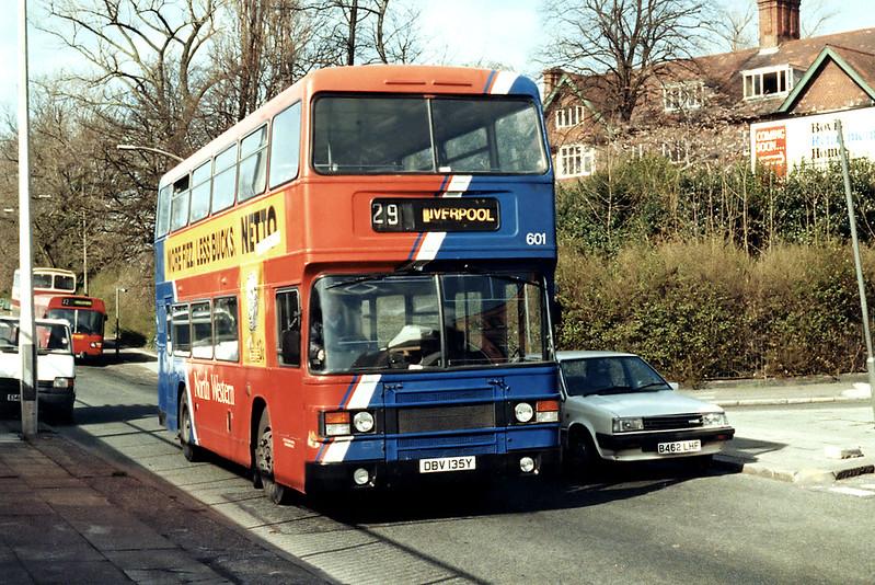 601 DBV135Y, Aigburth 17/3/1994