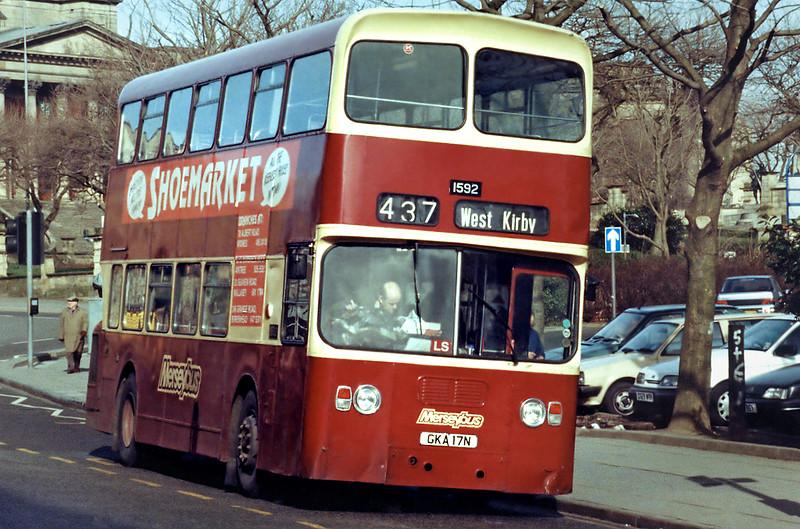 1592 GKA17N, Liverpool 17/3/1994