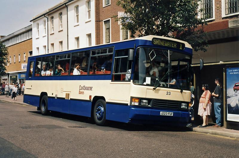 23 J223FUF, Eastbourne 19/7/1994
