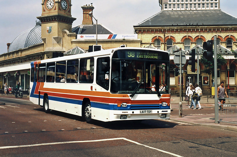 617 L617TDY, Eastbourne 19/7/1994