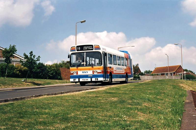 179 PCD79R, Langney 19/7/1994