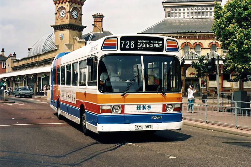 195 AYJ95T, Eastbourne 19/7/1994