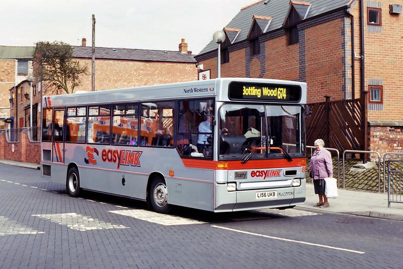 856 L156UKB, Wigan 22/4/1994