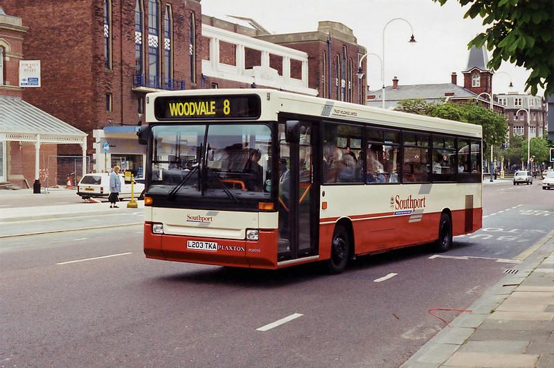 7203 L203TKA, Southport 27/5/1994