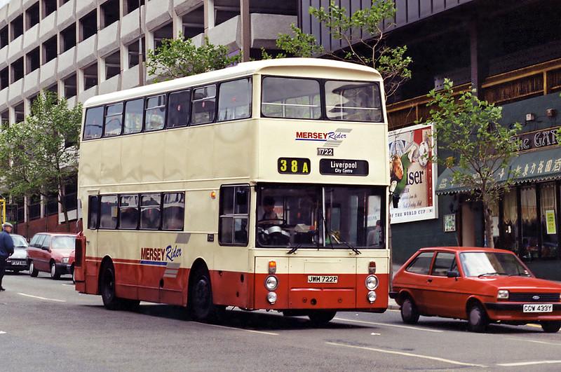 1722 JWM722P, Liverpool 28/5/1994