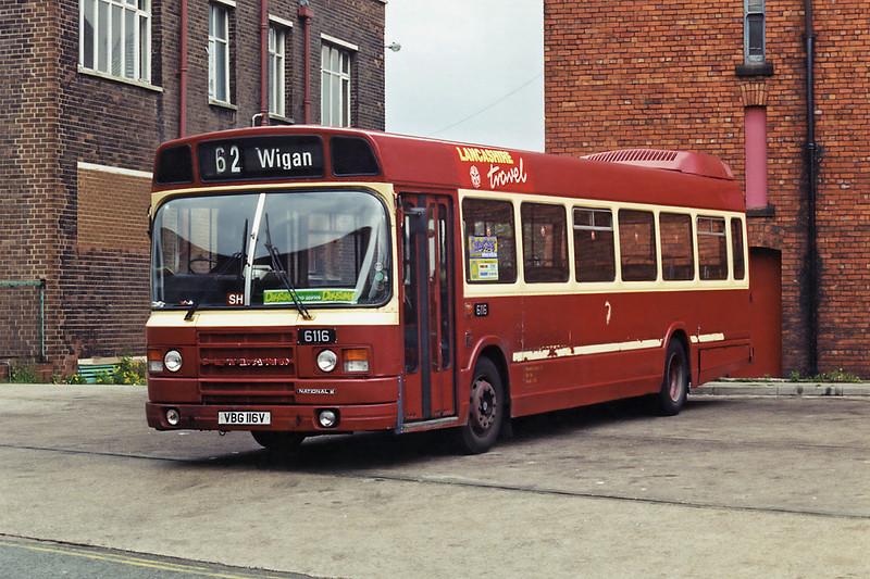 6116 VBG116V, St Helens 28/5/1994