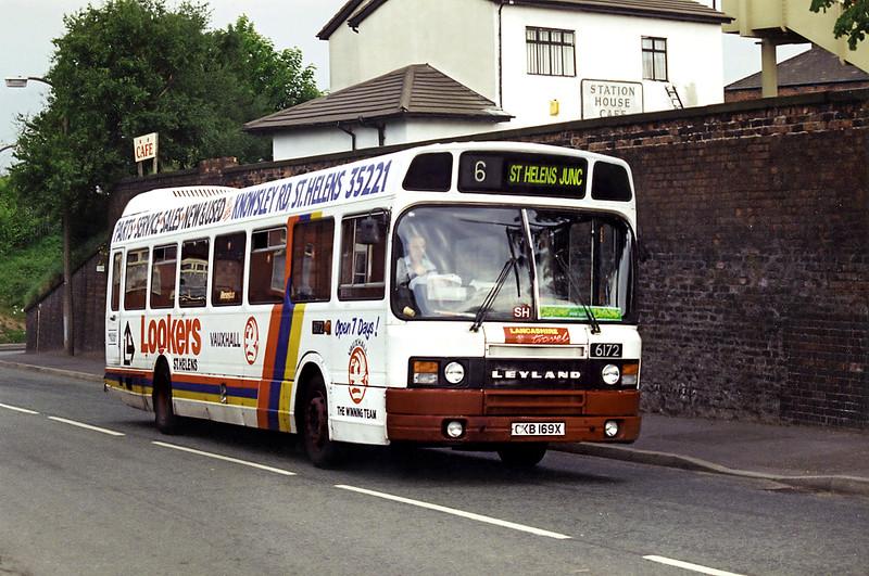 6172 CKB169X, St Helens Junction 28/5/1994