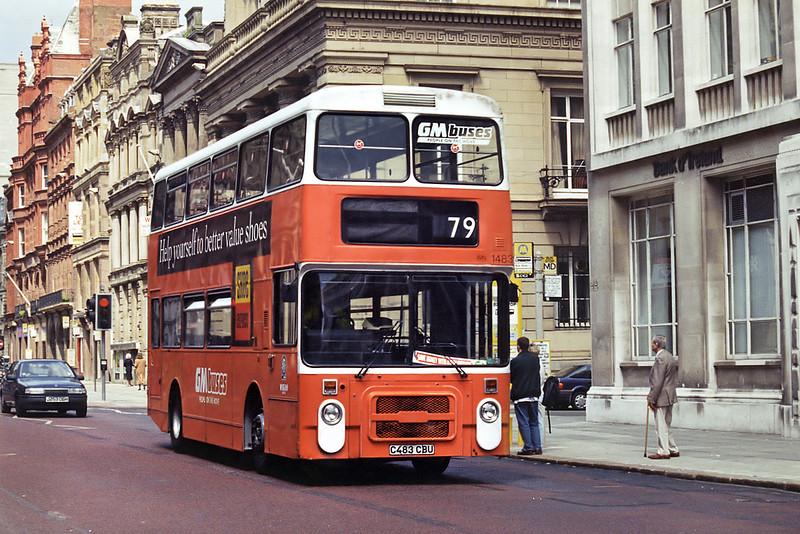 1483 C483CBU, Liverpool 28/5/1994