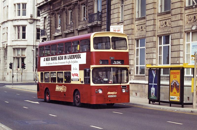 1501 GKA501M, Liverpool 28/5/1994