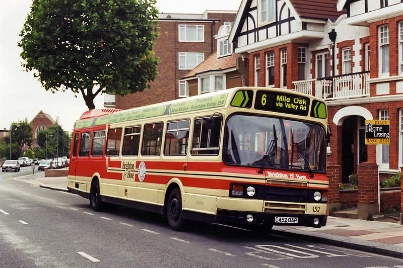 152 C452OAP, Seven Dials 29/8/1994